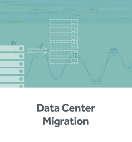 Simplify the data center migration process with our network automation software.