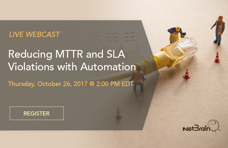 Reduce MTTR and SLA Violations with Automation