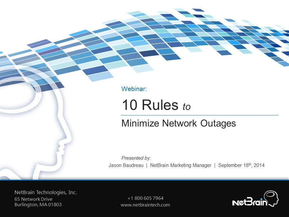 10 Rules to Minimize Network Outages