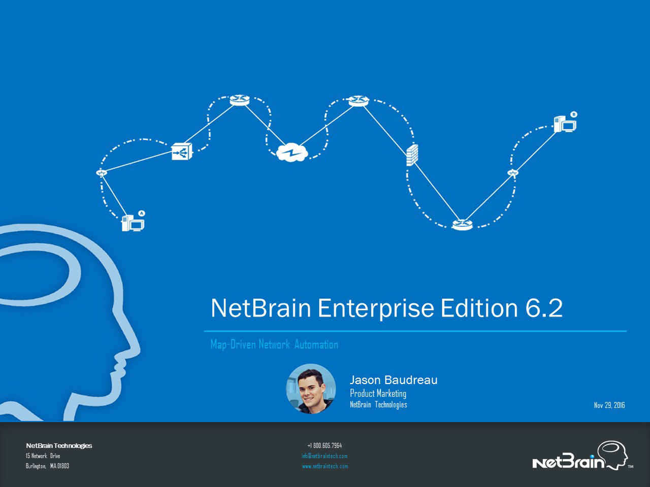 NetBrain Enterprise Edition 6.2 Release