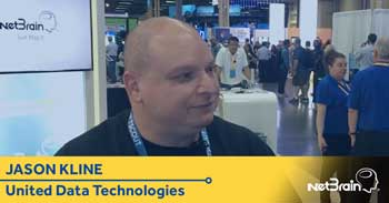 United Data Technologies and CF-YMCA Interview With NetBrain at CLUS 2017