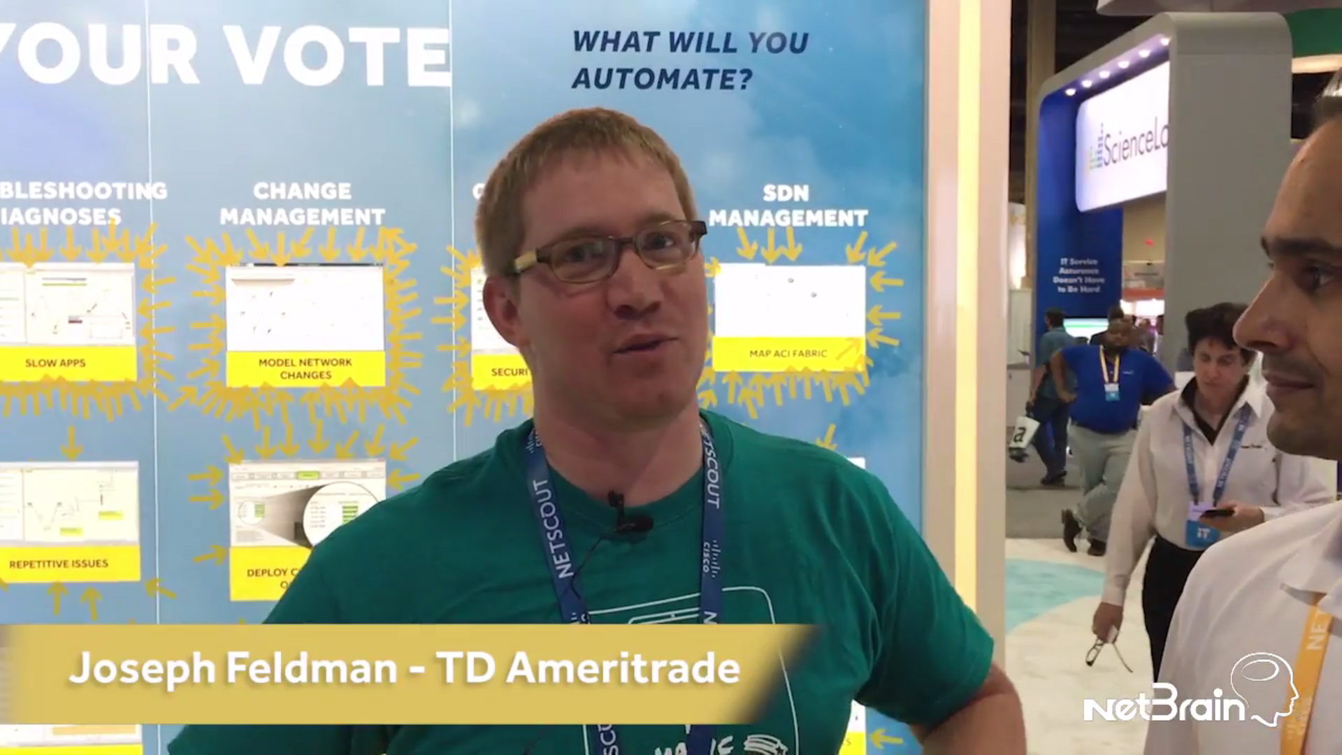TD Ameritrade Interview With NetBrain at CLUS2017