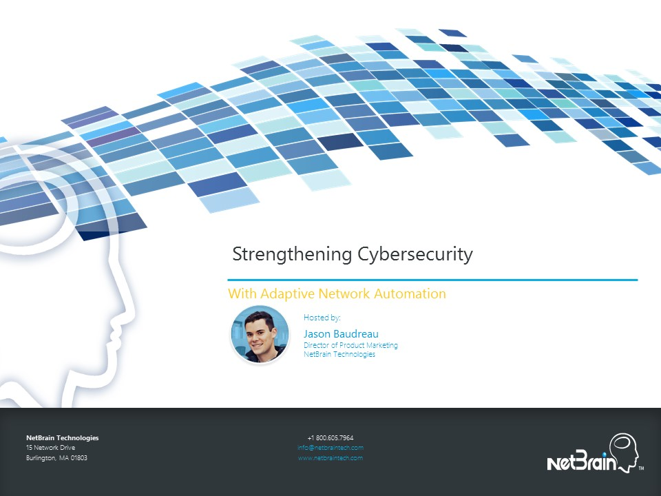 Strengthen Cybersecurity With Network Automation