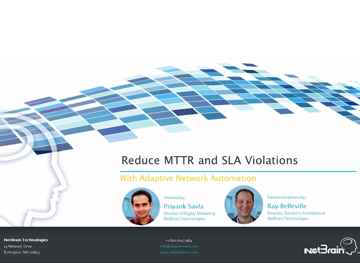 Reducing MTTR and SLA Violations with Automation